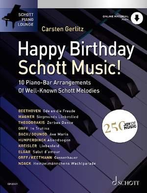Happy Birthday, Schott Music! Product Image