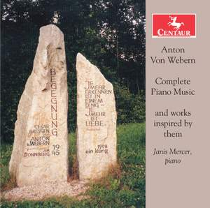 Webern: Complete Piano Music & Works Inspired by Them