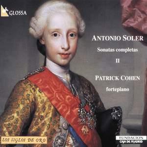 Soler: Sonatas completas, Vol. 2