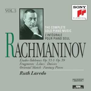 Rachmaninov: Études-Tableaux, Op. 33 & Op. 39