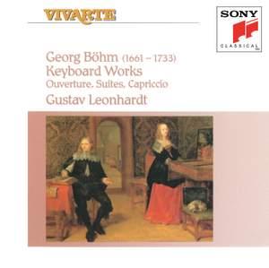 Georg Böhm: Works for Keyboard