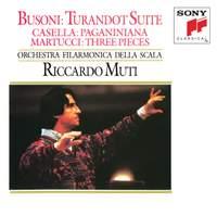 Busoni: Turandot Suite, Casella: Paganiniana, Martucci: Three Pieces