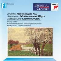 Brahms: Piano Concerto No. 1 & Schumann: Introduction & Allegro