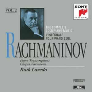 Rachmaninov: Piano Transcriptions, Chopin Variations