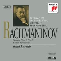 Rachmaninov: Piano Sonatas Nos. 1 & 2, Variations on a Theme of Corelli