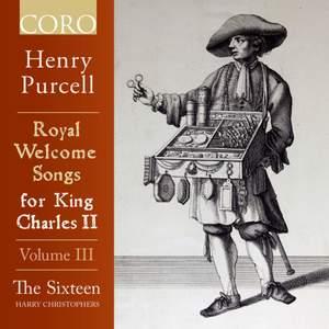 Royal Welcome Songs for King Charles II Volume III Product Image