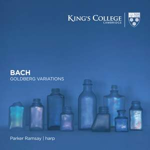 Bach: Goldberg Variations (arranged for harp) Product Image