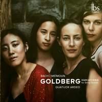 Bach: Goldberg Variations (Arr. F. Meïmoun for String Quartet)