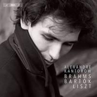 Brahms, Bartók, Liszt