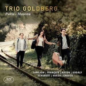 Paris-Moscow: Tanejew, Francaix; Haydn; Kodaly