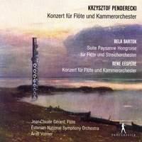 Penderecki, Eespere & Bartók: Flute Concertos