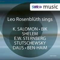 Salomon, Bik & Others: Works for Voice & Piano