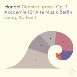 Handel: Concerti grossi Op. 3 Product Image