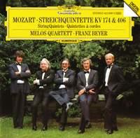 Mozart: String Quintets, K174 & K406