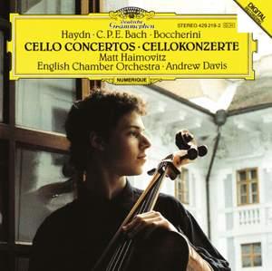 Haydn, CPE Bach & Boccherini: Cello Concertos