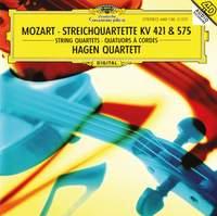 Mozart: String Quartets, K421 & K575