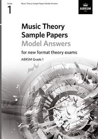 ABRSM: Music Theory Sample Papers Model Answers, ABRSM Grade 1