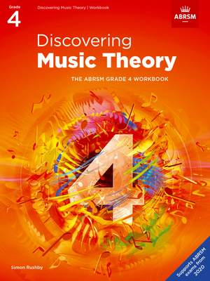 ABRSM: Discovering Music Theory, The ABRSM Grade 4 Workbook Product Image