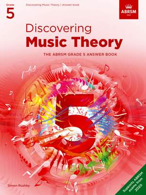 ABRSM: Discovering Music Theory, The ABRSM Grade 5 Answer Book Product Image