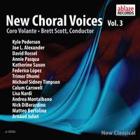 New Choral Voices, Vol. 3