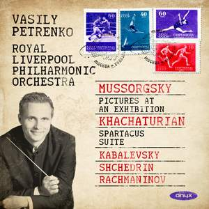 Mussorgsky: Pictures at an Exhibition & Khachaturian, Kabalevsky, Shchedrin & Rachmaninov Product Image