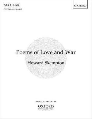 Skempton, Howard: Poems of Love and War