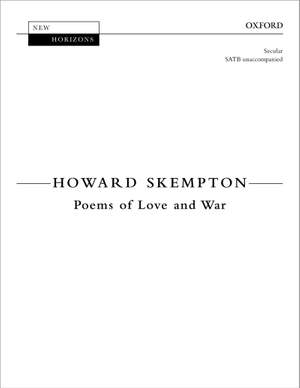 Skempton, Howard: Poems of Love and War Product Image