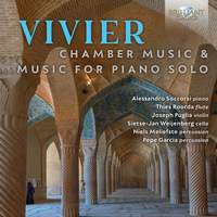 Vivier: Chamber Music & Music for Piano Solo