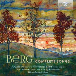Berg: Complete Songs Product Image