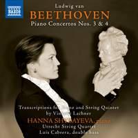 Beethoven: Piano Concertos Nos. 3 & 4 (Arr. V. Lachner for Piano & String Quintet)