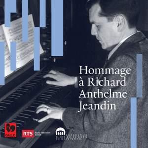 Hommage à Richard-Anthelme Jeandin