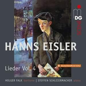 Eisler: Lieder Vol. 4 - Songs 1917-1927