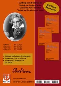 Beethoven, L v: Complete Piano Sonatas