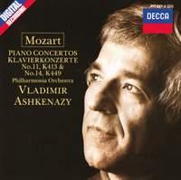 Mozart: Piano Concertos Nos. 11 & 14