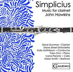 John Hawkins: Simplicius - Music for Clarinet Product Image