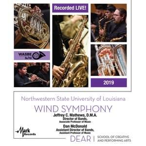 2019 WASBE: Northwestern State University of Louisiana Wind Symphony (Live) Product Image
