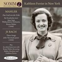 Kathleen Ferrier in New York