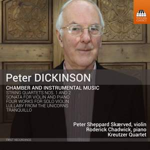 Peter Dickinson: Chamber and Solo Works Product Image
