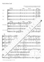 Volkslieder for choir SATB and piano duet Product Image