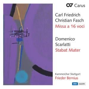 Fasch: Missa A 16 Voci | Scarlatti: Stabat Mater Product Image