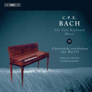 CPE Bach: Solo Keyboard Music Vol. 39 Product Image