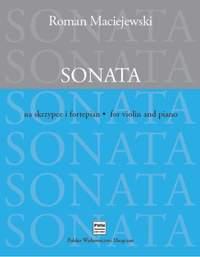 Maciejewski, R: Sonata