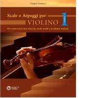 Pasquale Farinacci: Scale e Arpeggi Per Violino Vol. 1
