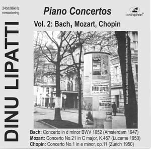 Bach, Mozart & Chopin: Piano Concertos (Live)