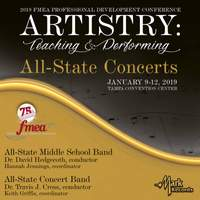 2019 Florida Music Education Association: All-State Middle School Band & All-State Concert Band (Live)