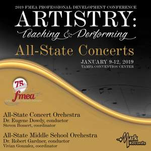 2019 Florida Music Education Association: All-State Middle School Orchestra & All-State Concert Orchestra (Live)