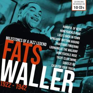 Fats Waller - Milestones of a Jazz Legend Product Image