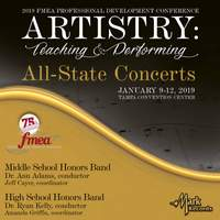 2019 Florida Music Education Association: Middle School Honors Band & High School Honors Band (Live)