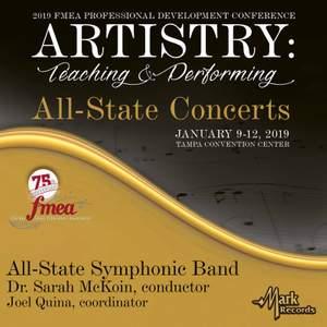 2019 Florida Music Education Association (FMEA): All-State Symphonic Band (Live)