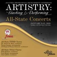 2019 Florida Music Education Association: All-State TTBB High School Chorus & All-State SSAA High School Chorus